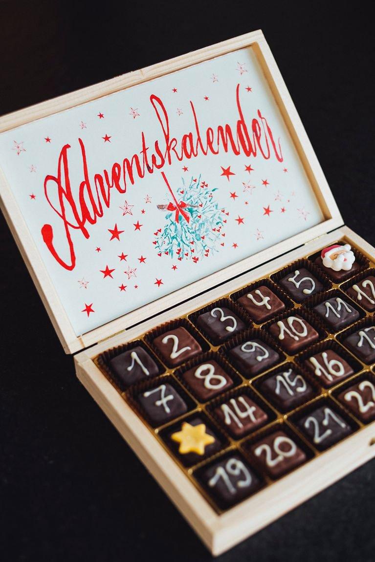 Adventskalender i choklad