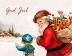 Barnet och jultomten
