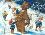Björnen och tomtar