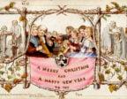 Första Julkortet