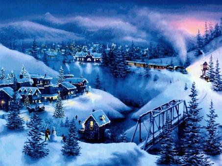 Kort med jultema