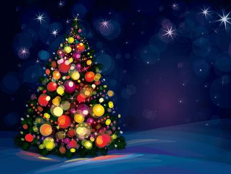 Vackra julgranen