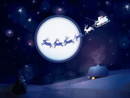 Jultomtens renar