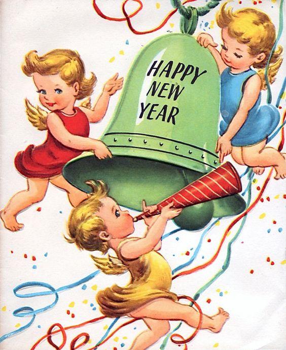 Nyårsklocka firande av nyår