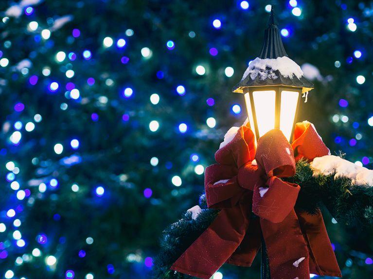 Ljus i vinternatt