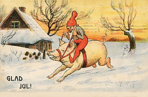 Rolig julkort