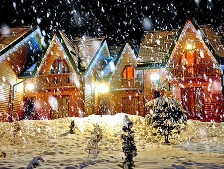 Vackra snö