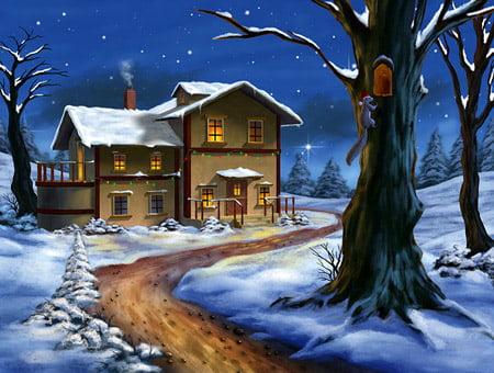 Vintermörker